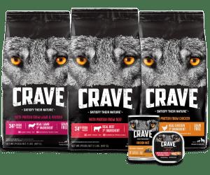 Crave dog food rating