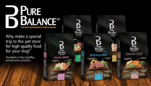 who makes Pure Balance dog food