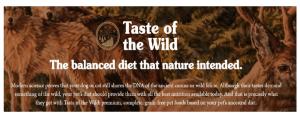 Who Мakes Taste of the Wild