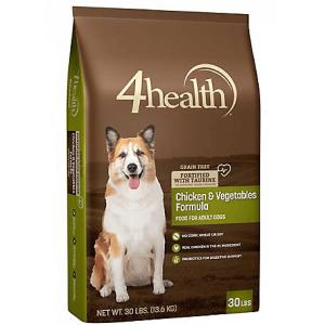 4Health Grain Free Chicken & Vegetables Formula Adult Dog Food