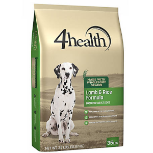 4Health Original Lamb & Rice Formula Adult Dog Food