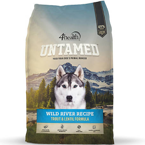 4Health Untamed Trout & Lentil Formula for Dogs
