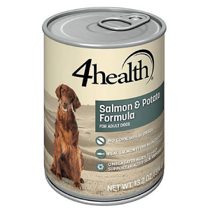 4Health with Wholesome Grains Salmon & Potato Dinner Dog Food