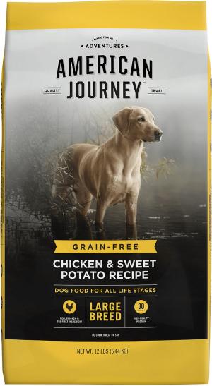 American Journey Large Breed Adult Chicken & Sweet Potato Recipe Grain-Free Dry Dog Food