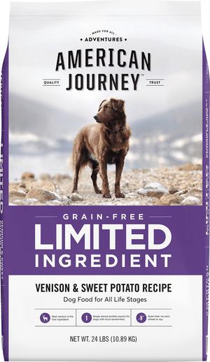 American Journey Limited Ingredient Venison & Sweet Potato Recipe Grain-Free Dry Dog Food