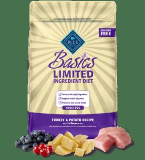 Blue Buffalo Basics Limited Ingredient Formula Turkey & Potato Recipe Adult Dry Dog Food