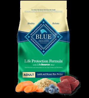 Blue Buffalo Life Protection Formula Lamb and Brown Rice Recipe