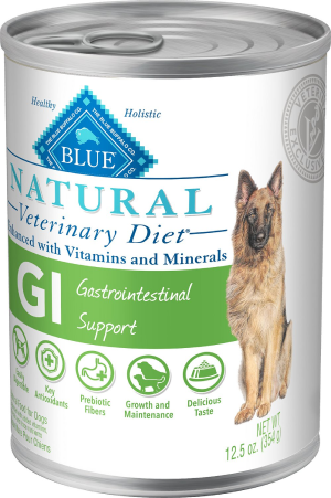 Blue Buffalo Natural Veterinary Diet GI Gastrointestinal Support Canned Dog Food