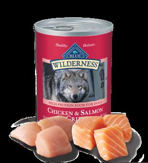 Blue Buffalo Wilderness Salmon & Chicken Grill Grain-Free Canned Dog Food