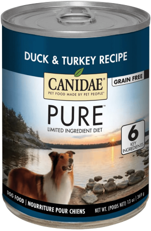 Canidae PURE Grain Free Wet Dog Food with Duck & Turkey