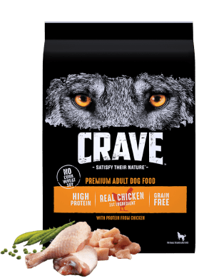 Crave High Protein Chicken Adult Grain-Free Dry Dog Food