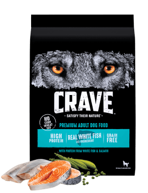 Crave With Protein From Salmon & Ocean Fish Adult Grain-Free Dry Dog Food