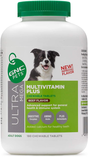 GNC Pets Ultra Mega Multivitamin Plus