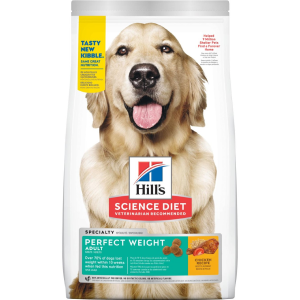 Hills Science Diet Adult Perfect Weight Chicken Recipe Dry Dog Food