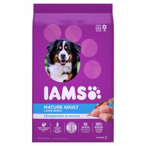 Iams Mature Large Breed Dog Dry Food Recipe