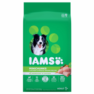 Iams ProActive Health Adult MiniChunks Chicken & Whole Grains Recipe