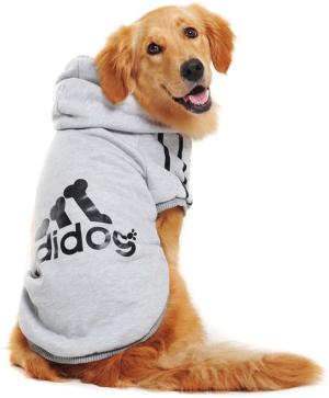 Idepet Cotton Adidog Large Dog Clothes