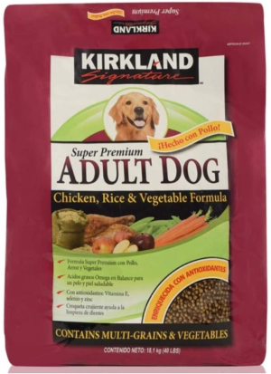 Kirkland Signature Adult Formula Chicken, Rice and Vegetable Dog Food