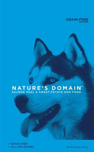 Kirkland Signature Nature's Domain Salmon Meal & Sweet Potato Dog Food