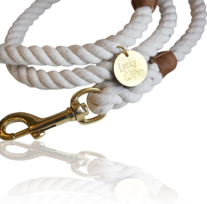 Lucky Pup Cotton Rope Dog Leash