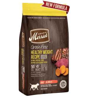 Merrick Grain Free Healthy Weight Recipe Dry Dog Food