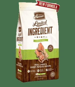 Merrick Limited Ingredient Adult Dry Dog Food - Lamb & Sweet Potato