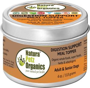 Natura Petz Organics Digestion Support Adult & Senior Dog Food Topper