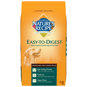 Nature's Recipe Easy-To-Digest Chicken Meal, Rice & Barley Recipe Dry Dog Food