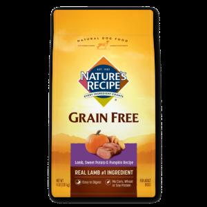 Nature's Recipe Grain-Free Lamb, Sweet Potato & Pumpkin Recipe Dry Dog Food