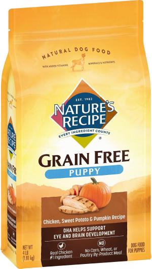 Nature's Recipe Grain-Free Puppy