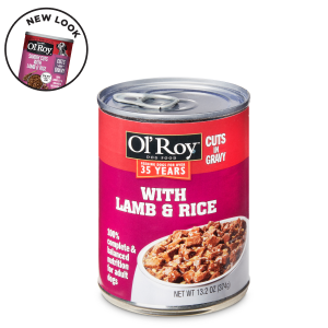 Ol' Roy Cuts in Gravy with Lamb & Rice Wet Dog Food