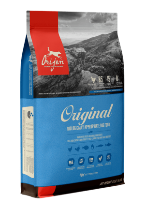 ORIJEN Original Grain Free High Protein Fresh & Raw Animal Ingredients Dry Dog Food