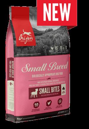 ORIJEN Small Breed Grain Free High Protein Fresh & Raw Animal Ingredients Dry Dog Food