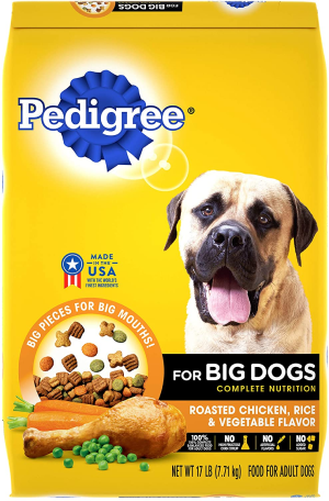 Pedigree Big Dogs Roasted Chicken, Rice & Vegetable Dry Dog Food