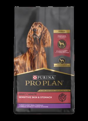 Pro Plan Sensitive Skin & Stomach Turkey & Oatmeal Dry Dog Food