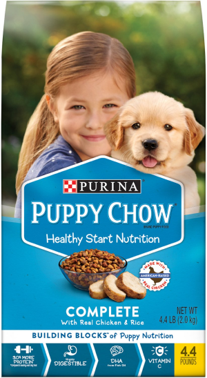 Puppy Chow Complete With Chicken & Rice