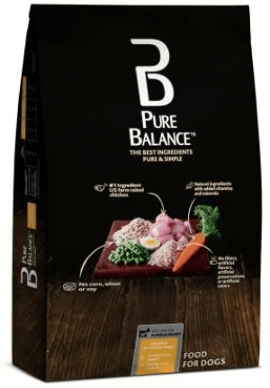 Pure Balance Dry Dog Food Chicken & Brown Rice Recipe