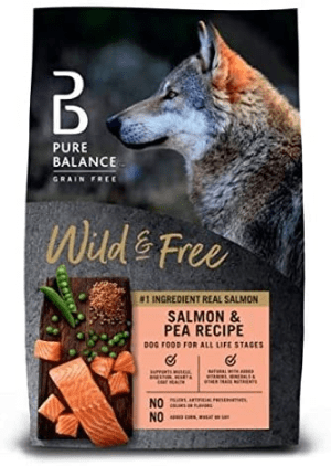 Pure Balance Grain-Free Salmon & Pea Recipe Dry Dog Food
