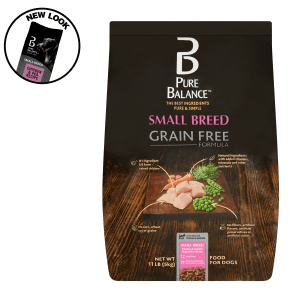 Pure Balance Small Breed Grain Free Formula Chicken & Garden Vegetables Recipe Food for Dogs