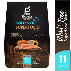 Pure Balance Wild & Free Superfood Blend Trout & Lentils Recipe Food for Dogs
