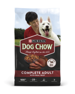 Purina Dog Chow Complete Adult Dry Dog Food With Real Beef