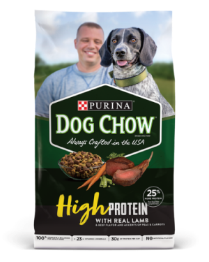 Purina Dog Chow High Protein Dry Dog Food With Real Lamb