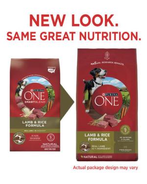 Purina ONE® SmartBlend® Lamb & Rice Formula Natural Adult Dog Food