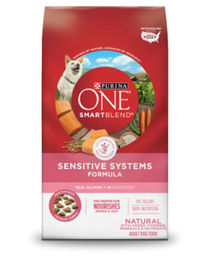 Purina ONE® SmartBlend® Sensitive Systems Formula Adult Premium Dog Food