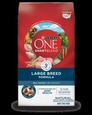 Purina ONE SmartBlend Large Breed Adult Formula Premium Dog Foody