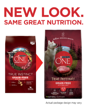 Purina ONE® True Instinct Grain-Free Formula with Real Beef Dry Dog Food