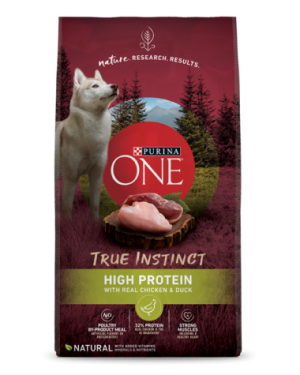 Purina ONE True Instinct High Protein with Real Chicken & Duck Dog Food