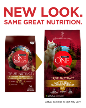 Purina ONE® True Instinct with a Blend of Real Turkey & Venison Dog Food