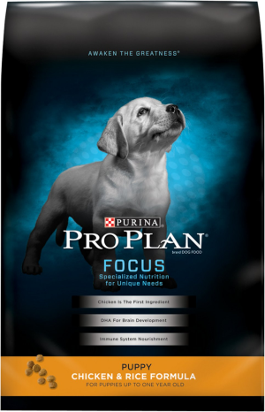 Purina Pro Plan Focus Puppy Chicken and Rice Formula