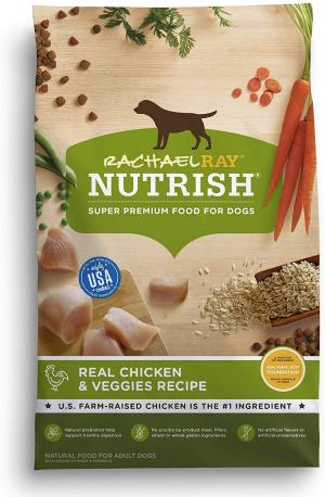 Rachael Ray Nutrish Natural Real Chicken & Veggies Recipe Dry Dog Food